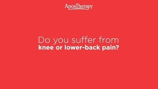 AposTherapy - Innovative approach to treating knee and lower back pain