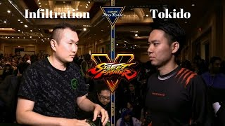 Street Fighter V: Infiltration Vs Tokido [Grand Finals] [Final Round 19]