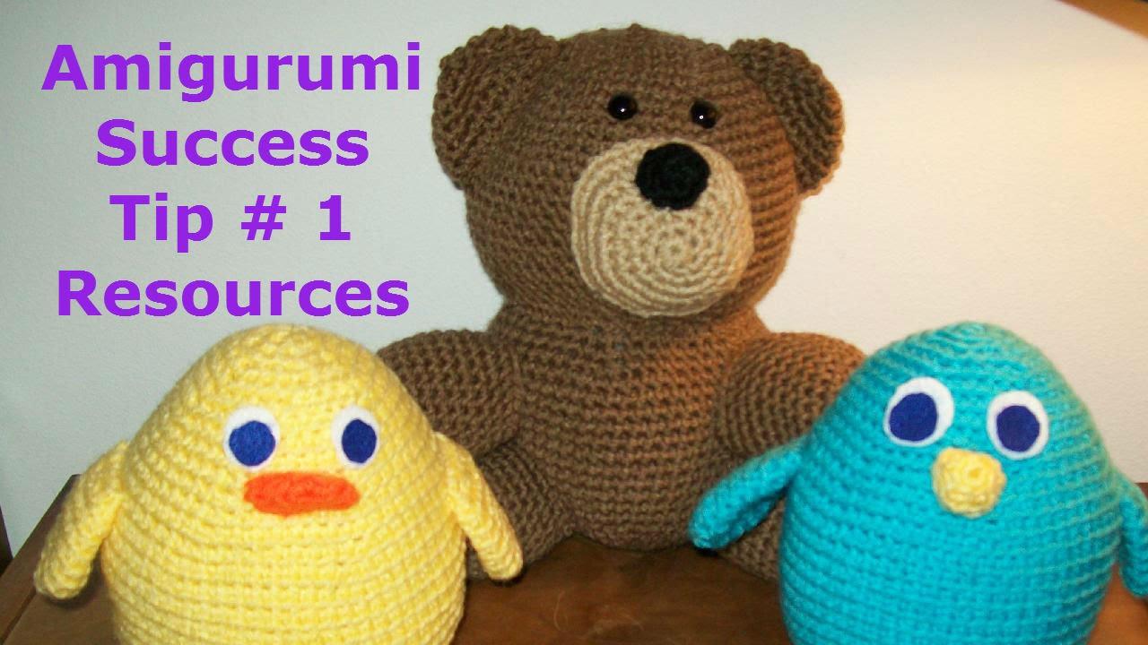 Amigurumi Tips : Amigurumi tips for success youtube