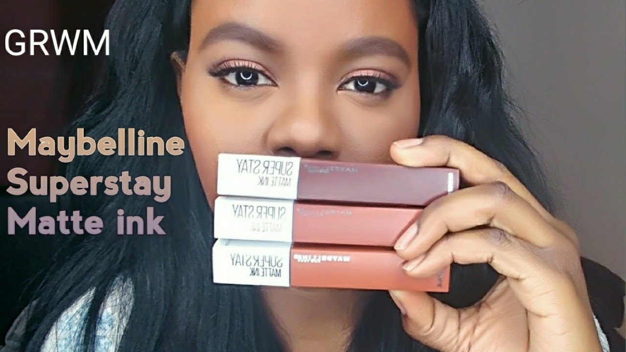 Matte Maybelline Colors Ink Lipstick