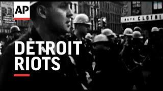 Detroit Riots - 1967 | Movietone Moment | 23 July 2021
