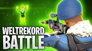 WELTREKORD BATTLE! 280M SCHUSS? 🔥   Fortnite: Battle Royale