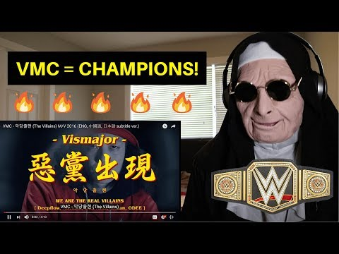 VMC - 악당출현 (The Villains) M/V | REACTION