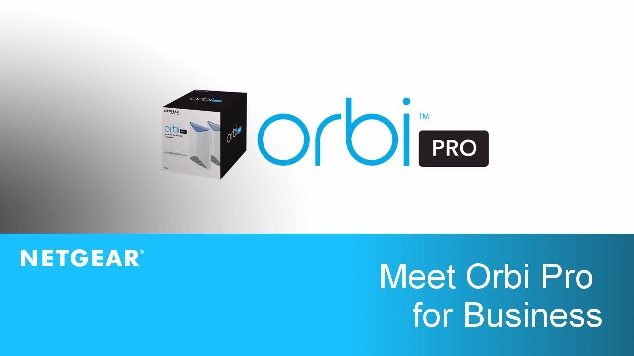 Meet Orbi Pro | NETGEAR Business