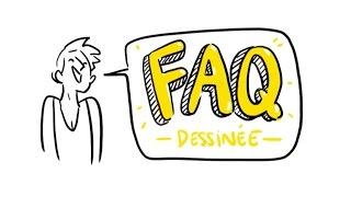 FAQ dessinée - Bouffe, fesses et Harry Potter !