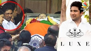 Who leads the Jazz Cinemas and Luxe Cinemas Theatre | Vivek spotted at Jayalalitha Funeral