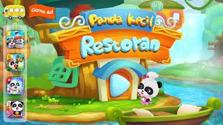 Game Anak Seru   Panda Kecil Restoran   BabyBus