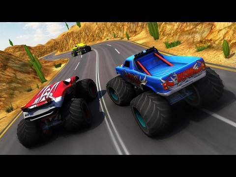 Monster Truck Racing - Racing Games - Videos Games For Kids - Girls - Baby Android