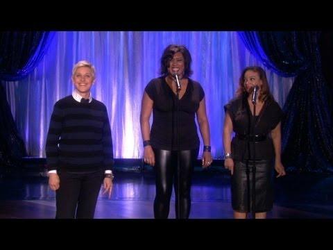 Ellen's Backup Singers