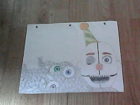 The Rat Artist speed draws- Ennard(Sister Location)