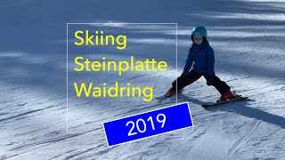 Thijn skiën 2019 Steinplatte Waidring