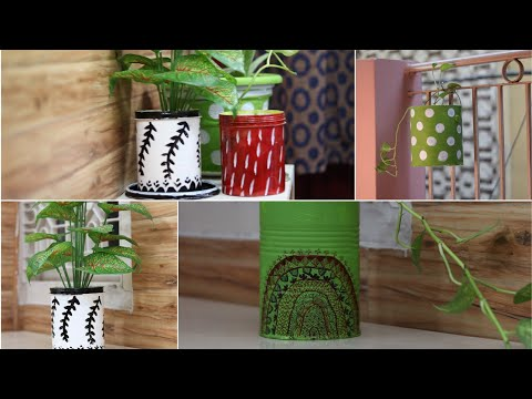 10 DIY Planter from waste things - Creative Way to Utilize Lockdown time