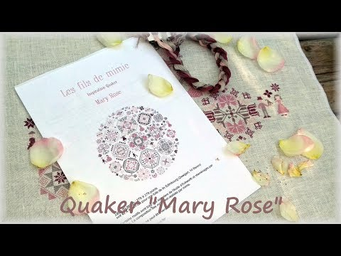 """#28 /Вышивка. Семплеры/ Quaker """"Mary Rose"""""""