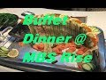 MBS Rise Restaurant  Tuesday  Dinner Buffet / Singapore Marina Bay Sands September 2017