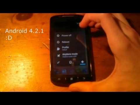 ZTE Skate 02 - Android 4.2 (Jellybean) update / Custom ROM telepítése /wintyo-Hungarian/