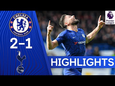 Chelsea 2-1 Tottenham | Giroud's Stunner & Alonso's Strike Lead the Blues to Victory 👏 | Highlights