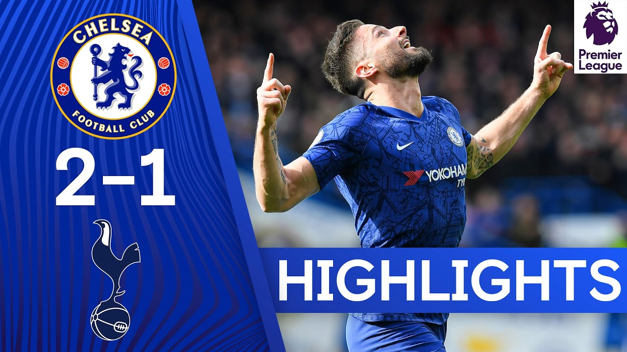 Chelsea 2-1 Tottenham | Giroud's Stunner & Alonso's Strike Lead the Blues to Victory 👏