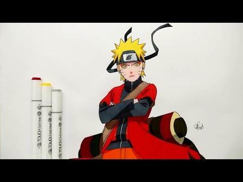 how-to-draw-naruto-sage-mode---step-by-step-(tutorial)---naruto-shippuden