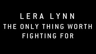 True Detective (Music from the HBO Series) - Lera Lynn - The Only Thing Worth Fighting For (Lyrics)