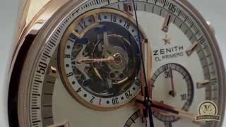 Швейцарские часы ZENITH EL PRIMERO  Tourbillon Chronograph(Обзор. Краткая характеристика часов ZENITH EL PRIMERO Tourbillon Chronograph. Часовщик - ремонт швейцарских часов www.chasovshik.ua..., 2016-06-15T11:29:39.000Z)