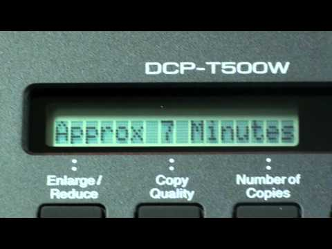 วิธีการเติมหมึกแท้งค์แท้บราเดอร์ รุ่น DCP-T500W
