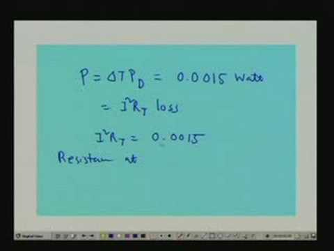 Lecture - 17 Problems on Temperature Sensors
