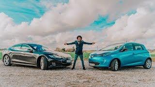 Renault Zoe Test Von Tesla Fahrer