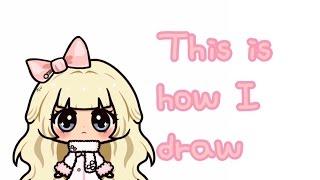 Michaela Draws - This is how I draw