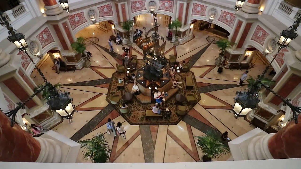 ディズニーシーホテルミラコスタ サローネからハーバールームまで - youtube