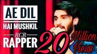 RCR RAPPER || AE DIL H MUSHKIL || MTV LIVE STAGE SHOW || REFTAAR 2019 Part -1