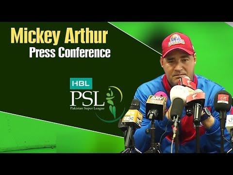 HBL PSL 4 | Match 18 | Karachi Kings vs Islamabad United Post Match Press Conference | Mickey Arthur