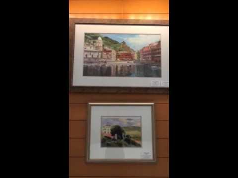 Linda Roberts exhibit at 100 East Pratt Street 5/2-28/2015