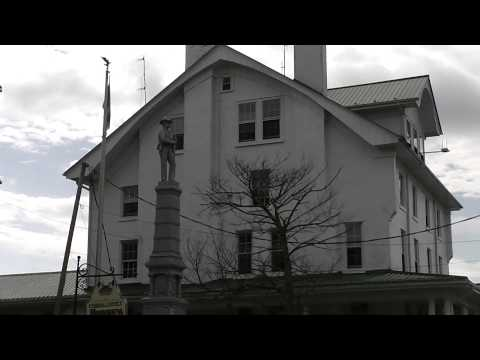 Historic Downtown Hillsville, Virginia in HD