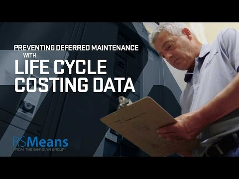 Life Cycle Costing Data From RSMeans