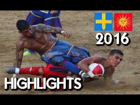 Calcio Storico 2016 ● Azzurri - Rossi ● Highlights