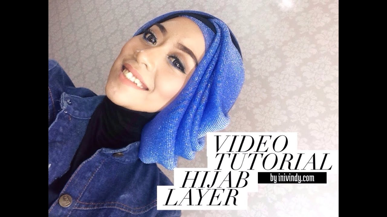 Tutorial Hijab Layer Bahasa Jawa YouTube