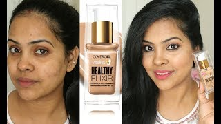 Video New Covergirl Vitalist Healthy Elixir Foundation Review & Demo//Indian Brown Skin download MP3, 3GP, MP4, WEBM, AVI, FLV Januari 2018