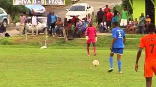 Secondary School Football League Premier Division 2015 Shiva Boys vs Fyzabad