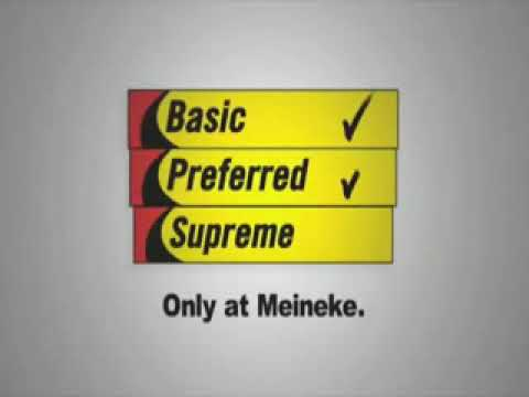 Meineke Oil Change