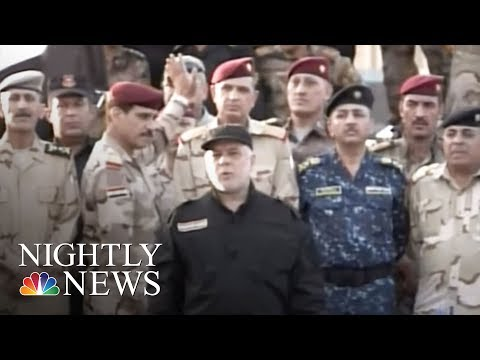 Iraqi Forces Declare Victory Over ISIS In Mosul | NBC Nightly News
