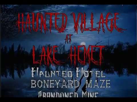 Haunted Village at Lake Hemet