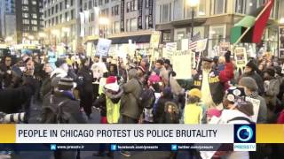 People In Chicago Protest U.S. Police Brutality