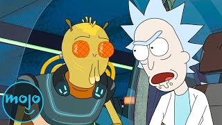 Top 10 Alien Ra¢es on Rick and Morty