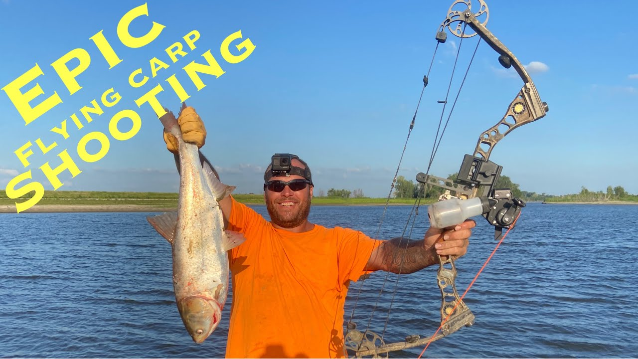 NON STOP EPIC FLYING ASIAN CARP SHOOTING