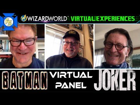 FROM BATMAN TO JOKER Panel – Wizard World Virtual Experiences 2020