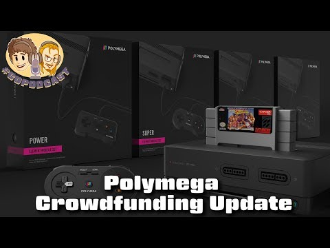 Polymega Crowdfunding Update - #CUPodcast