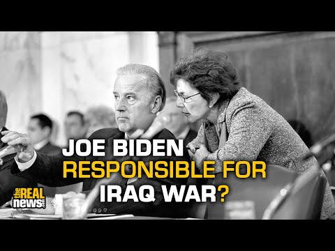 Joe Biden Was Instrumental in Launching the Iraq War