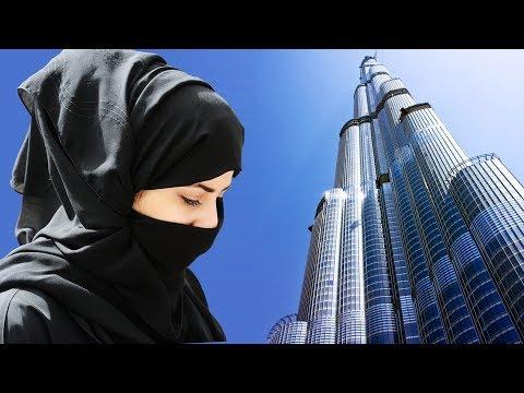 Road view to Burj Khalifa, Dubai   Tallest existing structure   برج خليفة