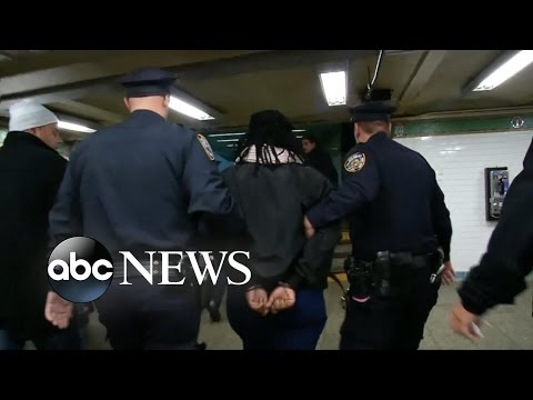 Woman Dies After Being Pushed Into NYC Train