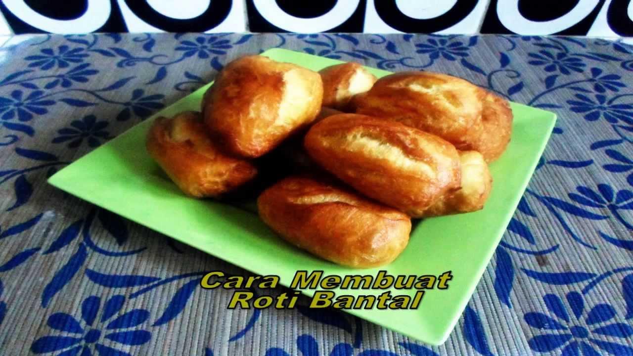 Resep Kue Bantal Ncc: Resep Cara Membuat Roti Bantal/Bolang-Baling/Odading